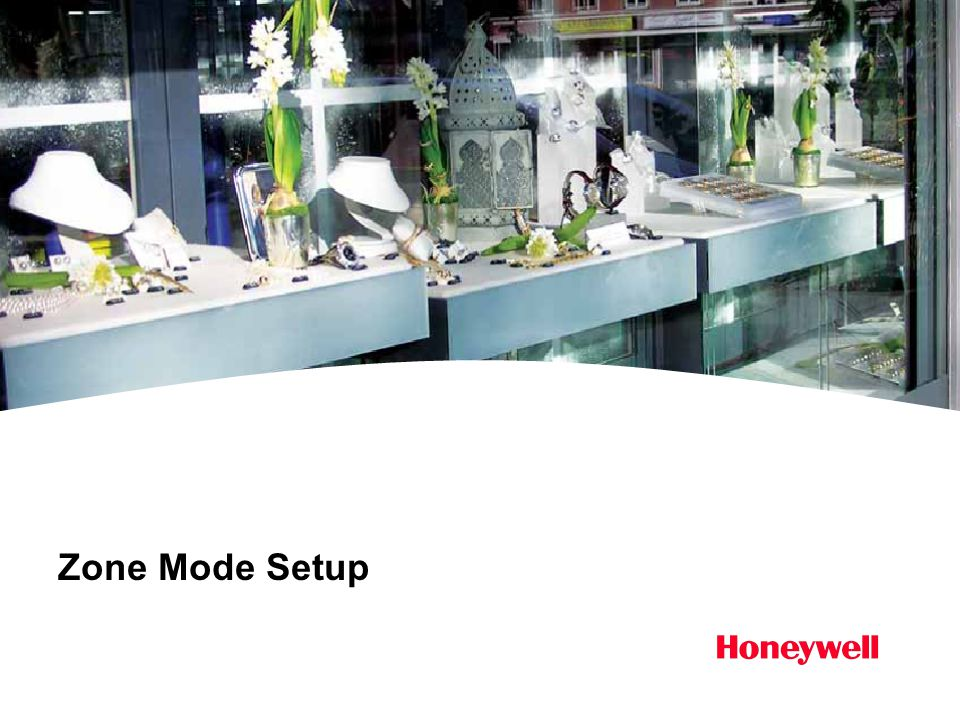 Zone Mode Setup