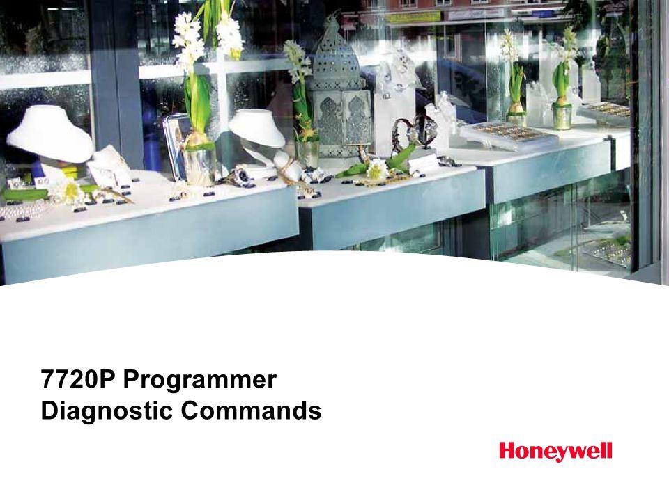 7720P Programmer Diagnostic Commands