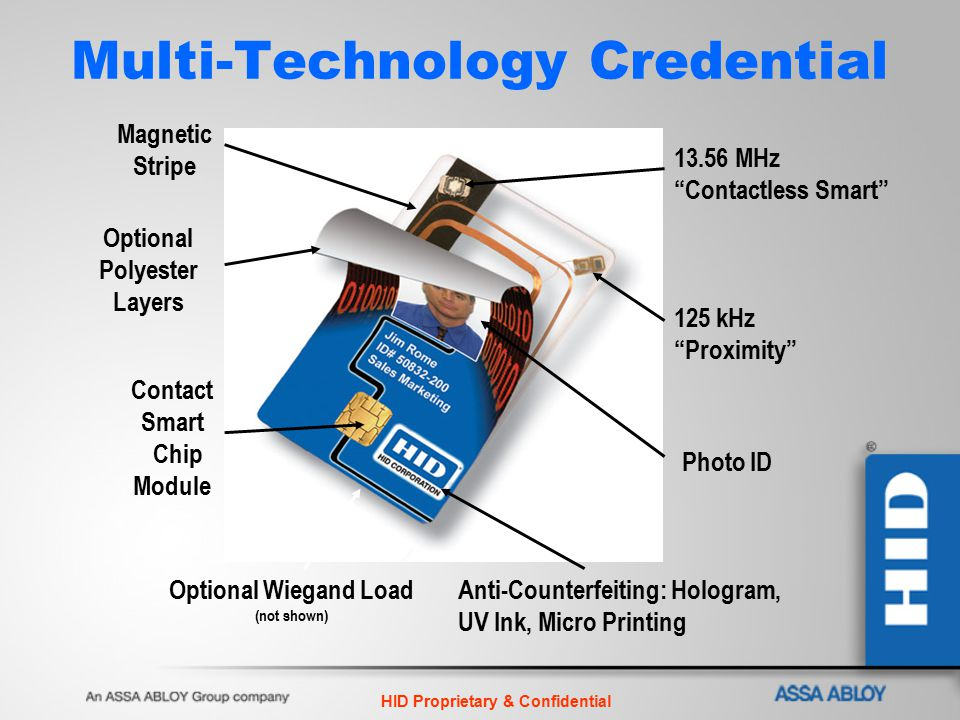 Multi-Technology Credential