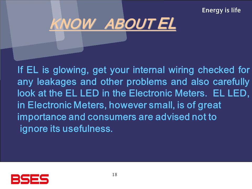 KNOW ABOUT EL
