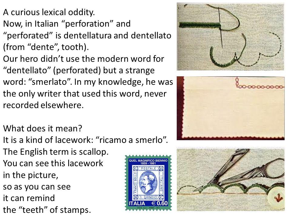 A curious lexical oddity.