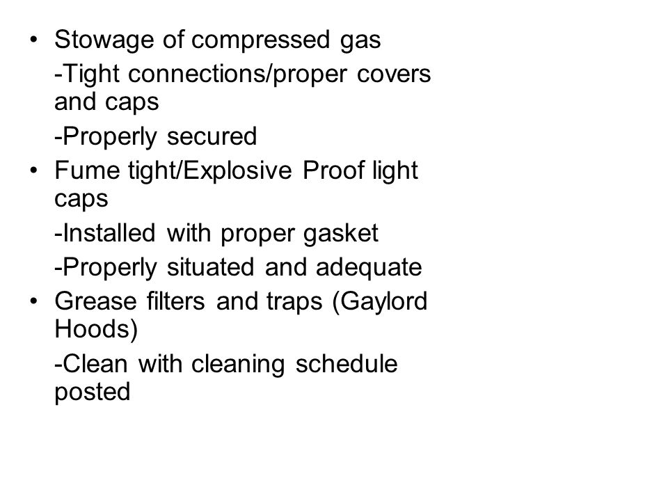 Stowage of compressed gas
