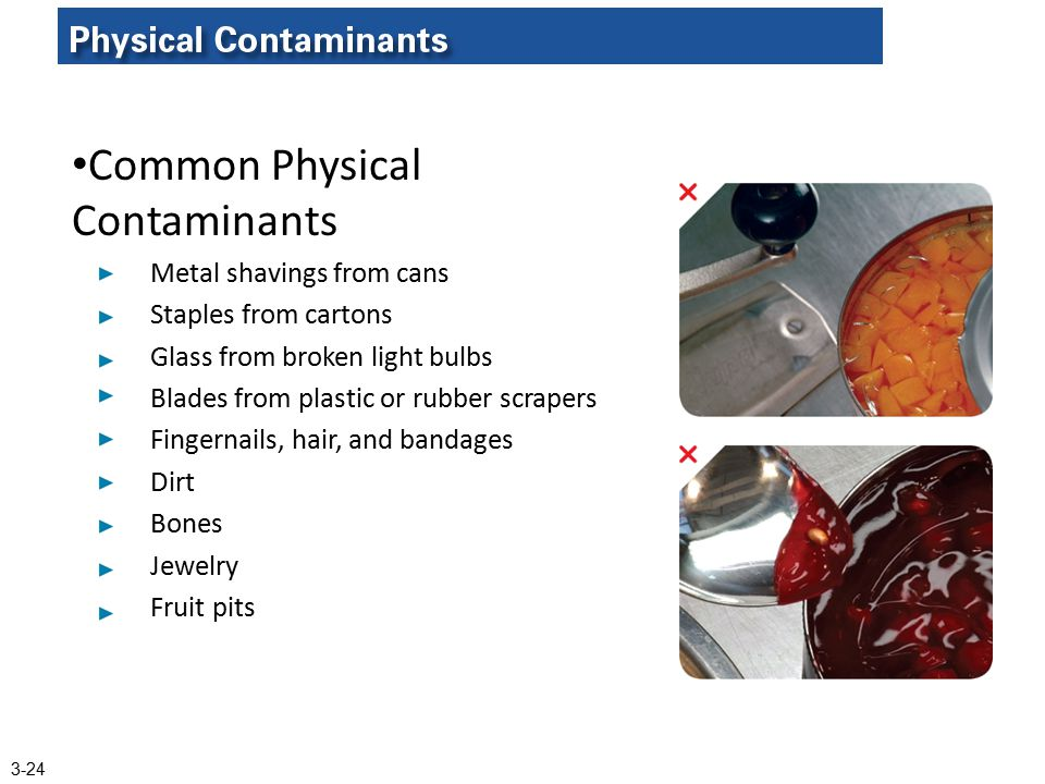 Common Physical Contaminants