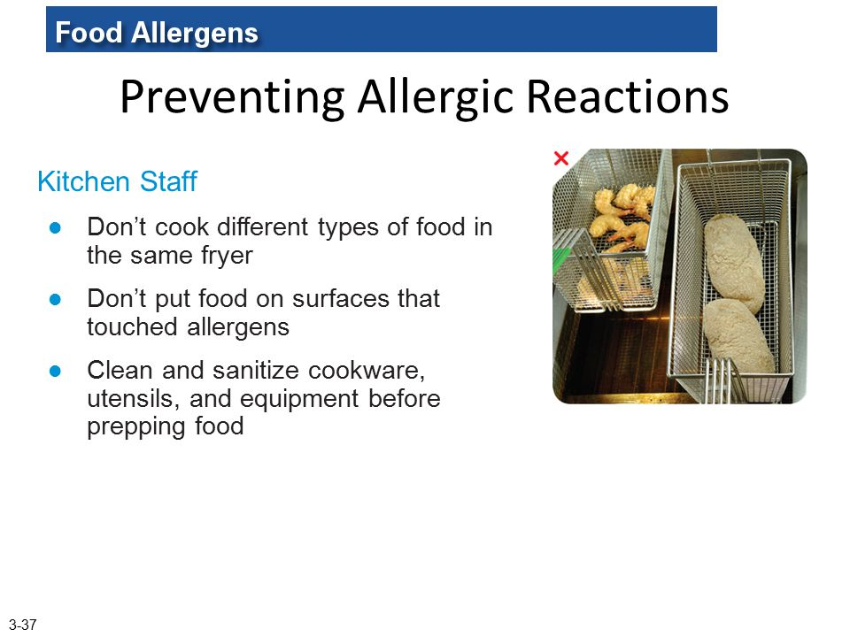 Preventing Allergic Reactions
