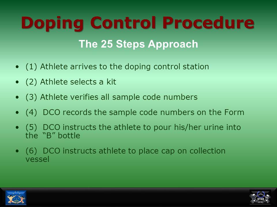 Doping Control Procedure
