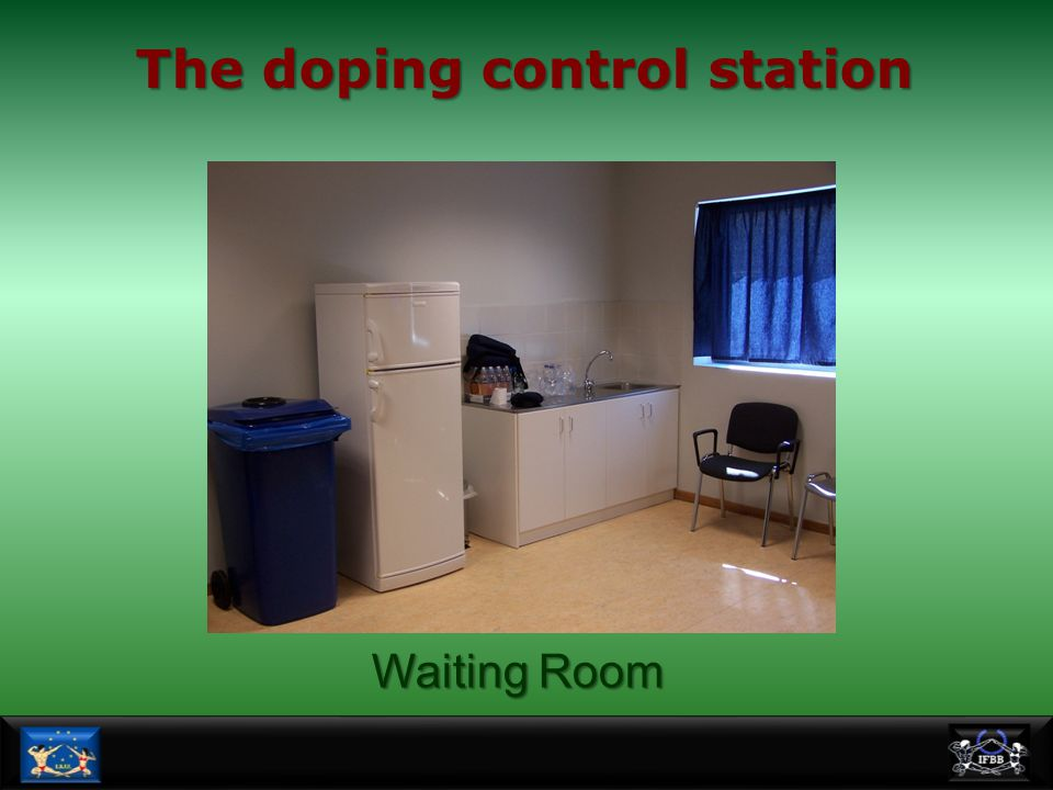 The doping control station
