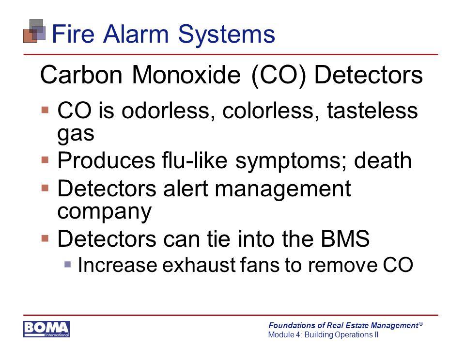 Carbon Monoxide (CO) Detectors