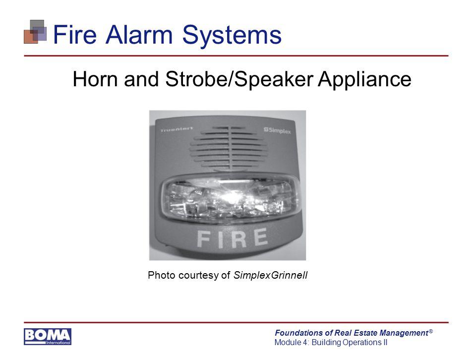 Horn and Strobe/Speaker Appliance