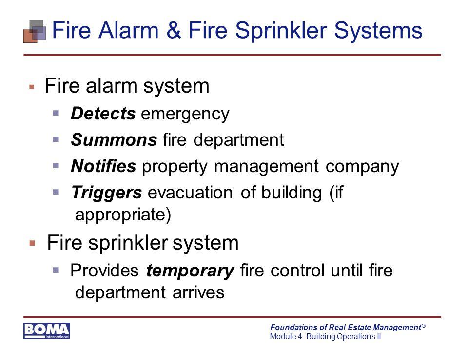 Fire Alarm & Fire Sprinkler Systems