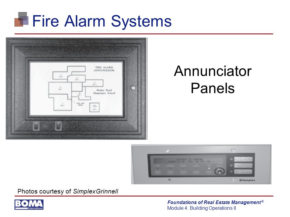 Fire Alarm Systems Annunciator Panels