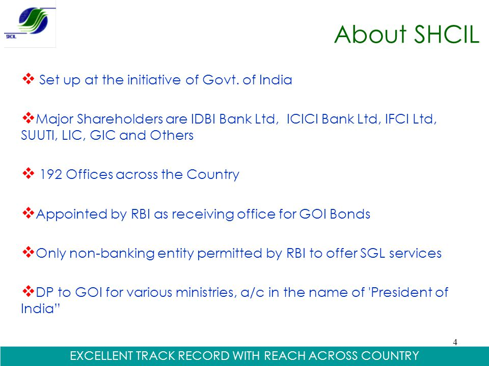 EXCELLENT TRACK RECORD WITH REACH ACROSS COUNTRY