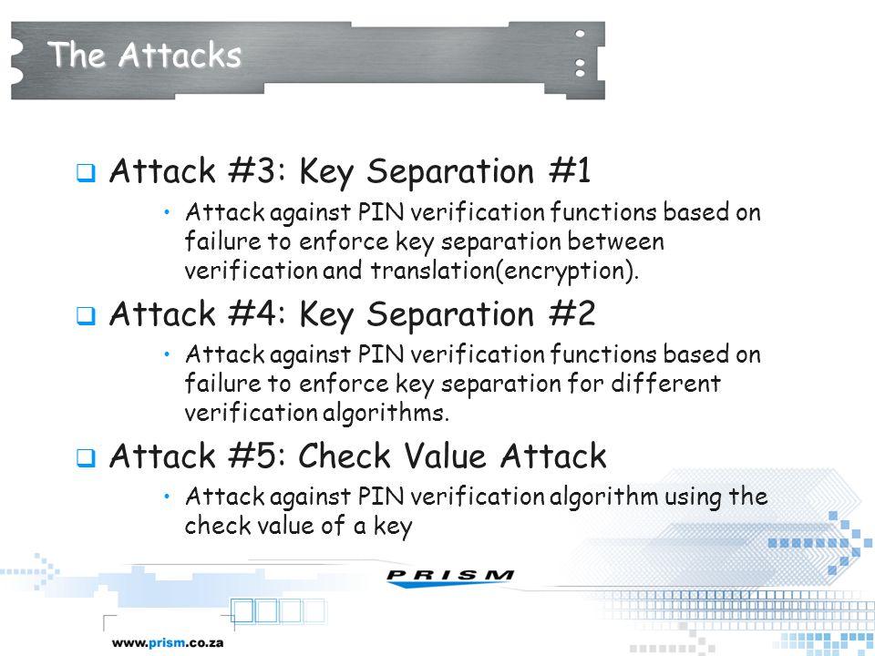 Attack #3: Key Separation #1