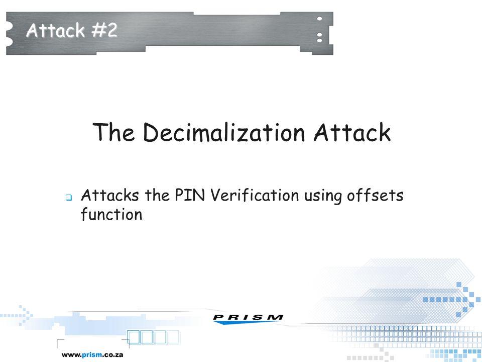 The Decimalization Attack