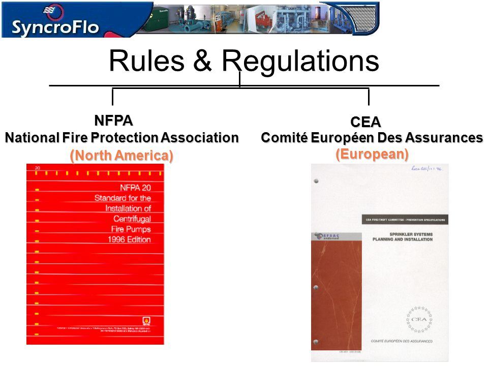 National Fire Protection Association Comité Européen Des Assurances