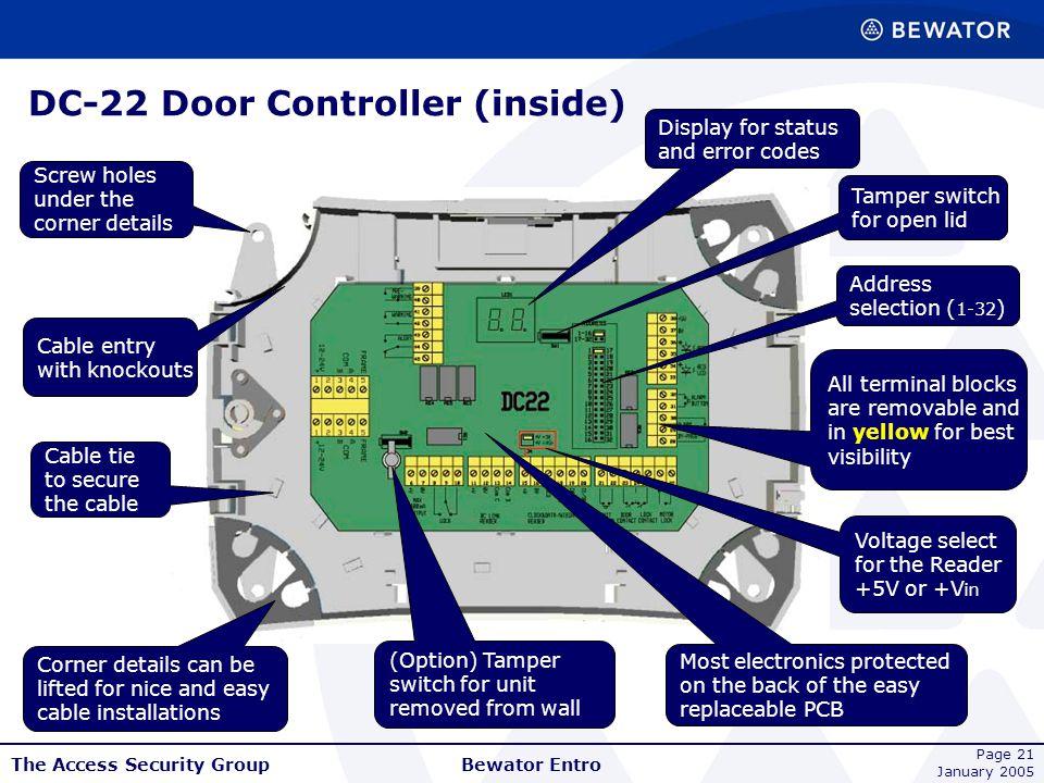 DC-22 Door Controller (inside)
