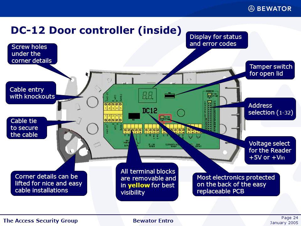 DC-12 Door controller (inside)