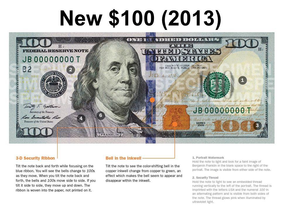 New $100 (2013)