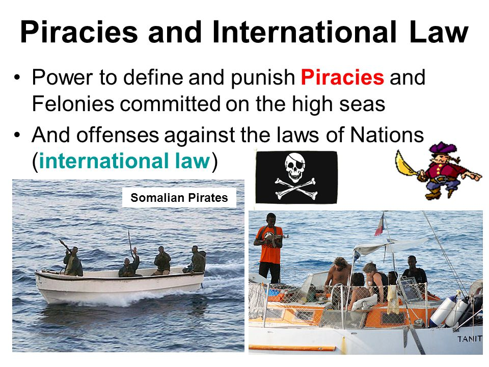 Piracies and International Law