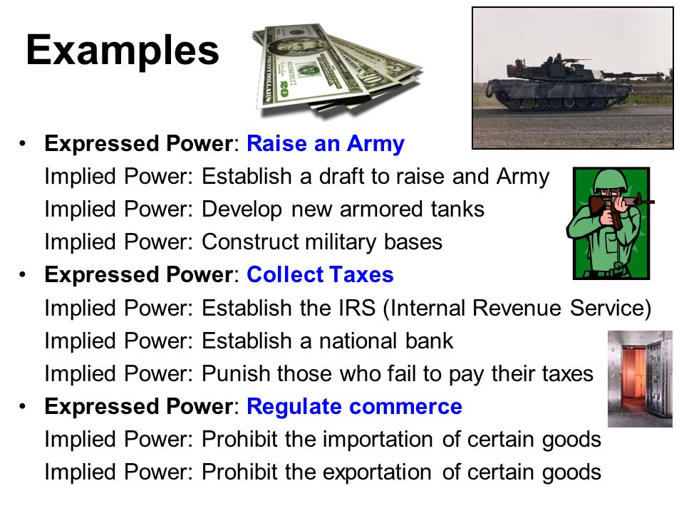 implied powers of congress essay Implied powers of congress: implied with this power to tax is the ability of the national and state governments go to how to write a good essay on your.