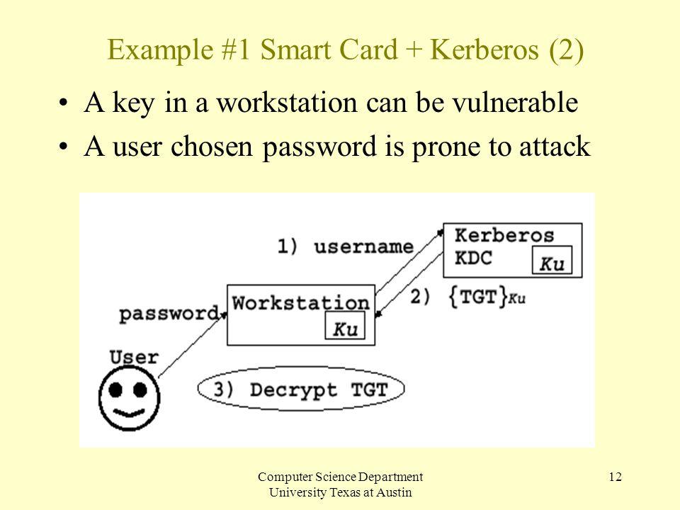 Example #1 Smart Card + Kerberos (2)