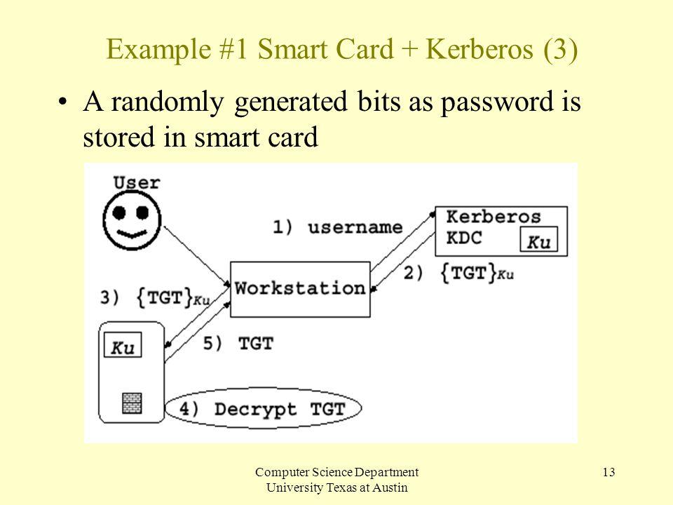 Example #1 Smart Card + Kerberos (3)