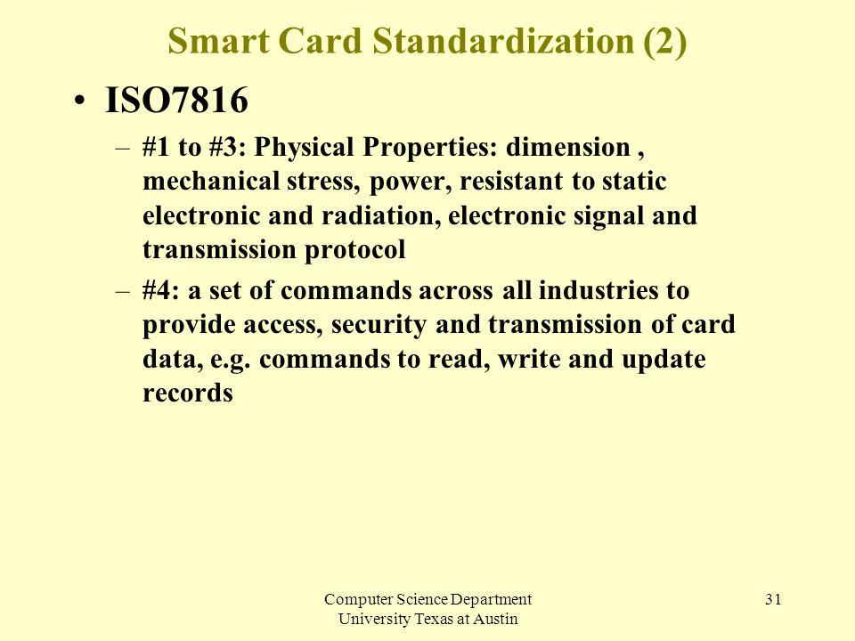 Smart Card Standardization (2)