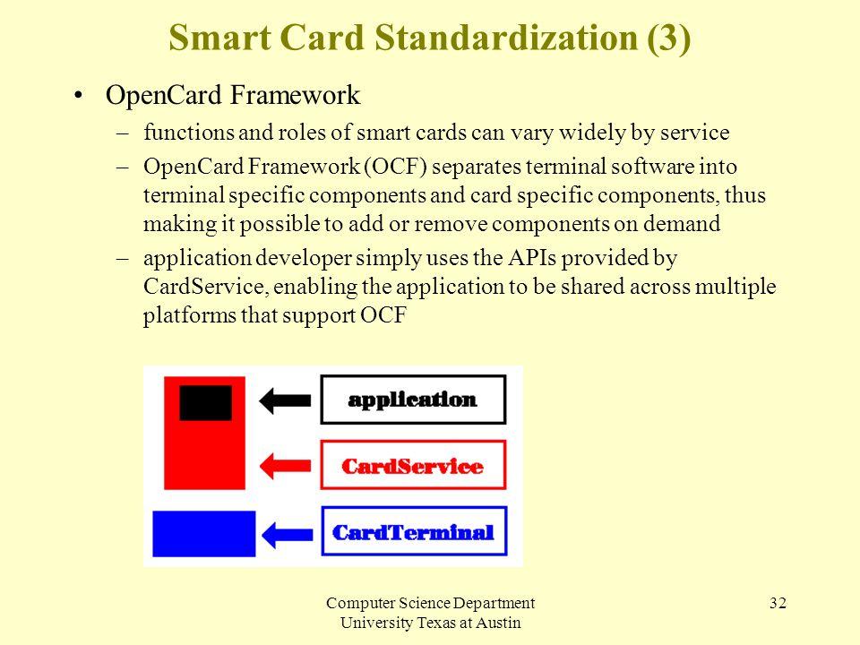 Smart Card Standardization (3)