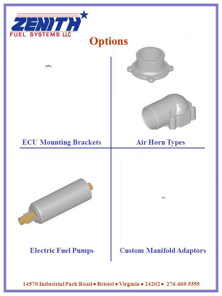 Custom Manifold Adaptors