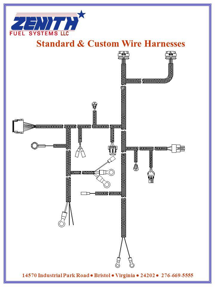 Standard & Custom Wire Harnesses