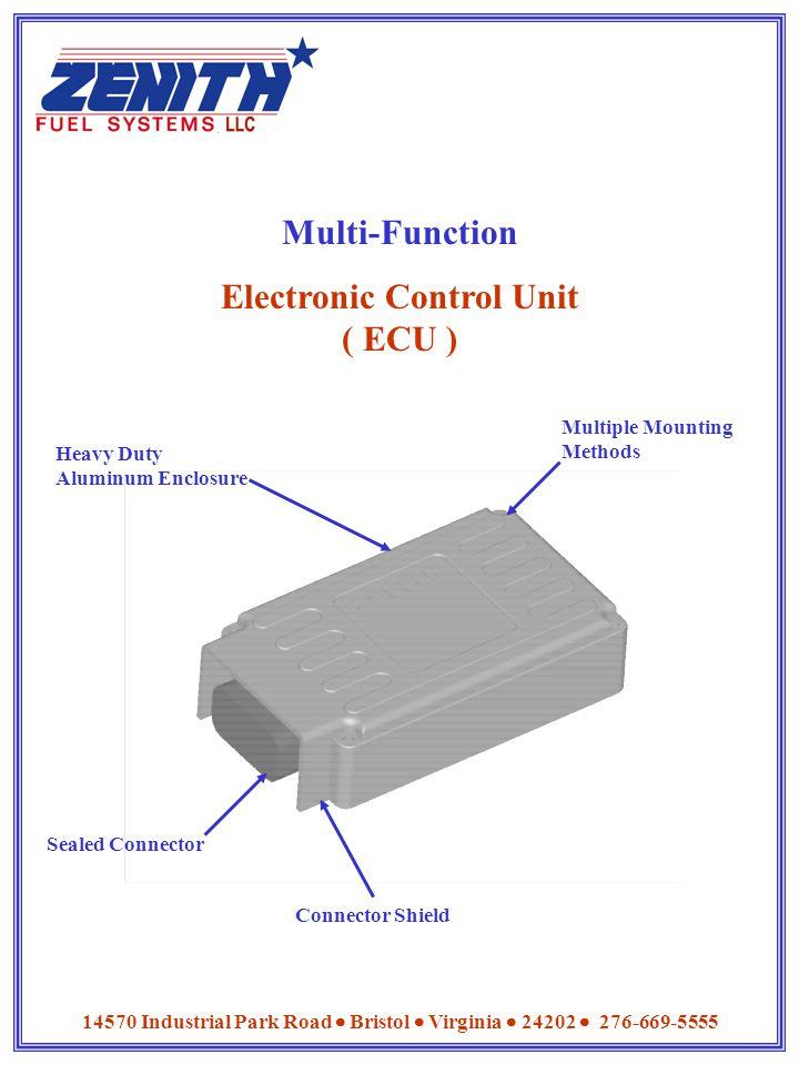 Electronic Control Unit ( ECU )