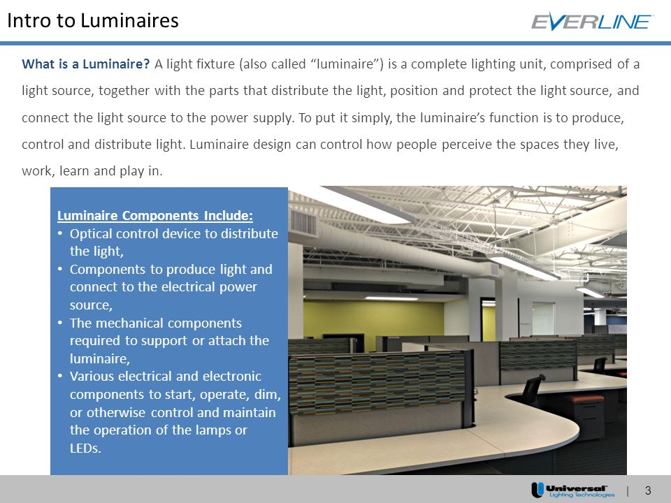 Intro to Luminaires