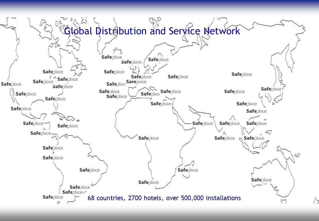 Global Distribution and Service Network