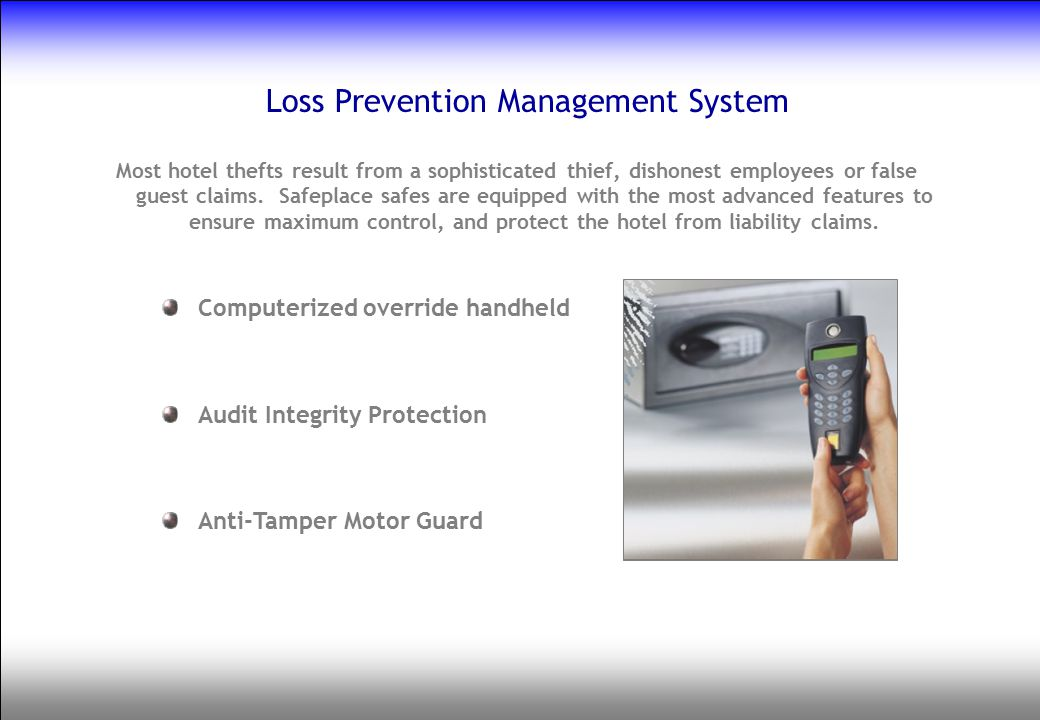 Loss Prevention Management System