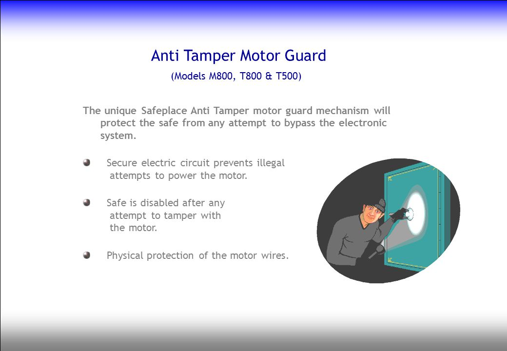 Anti Tamper Motor Guard