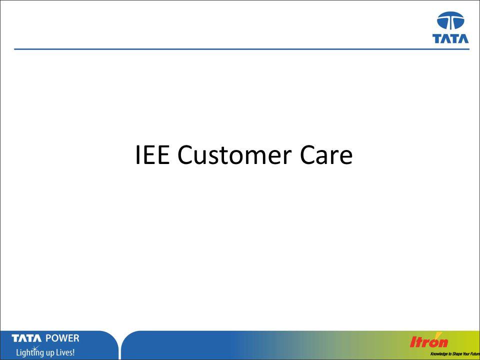 IEE Customer Care