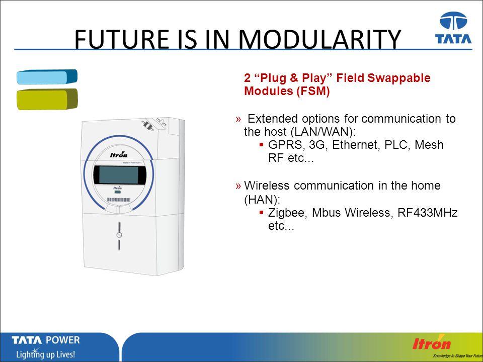 Future is in modularity