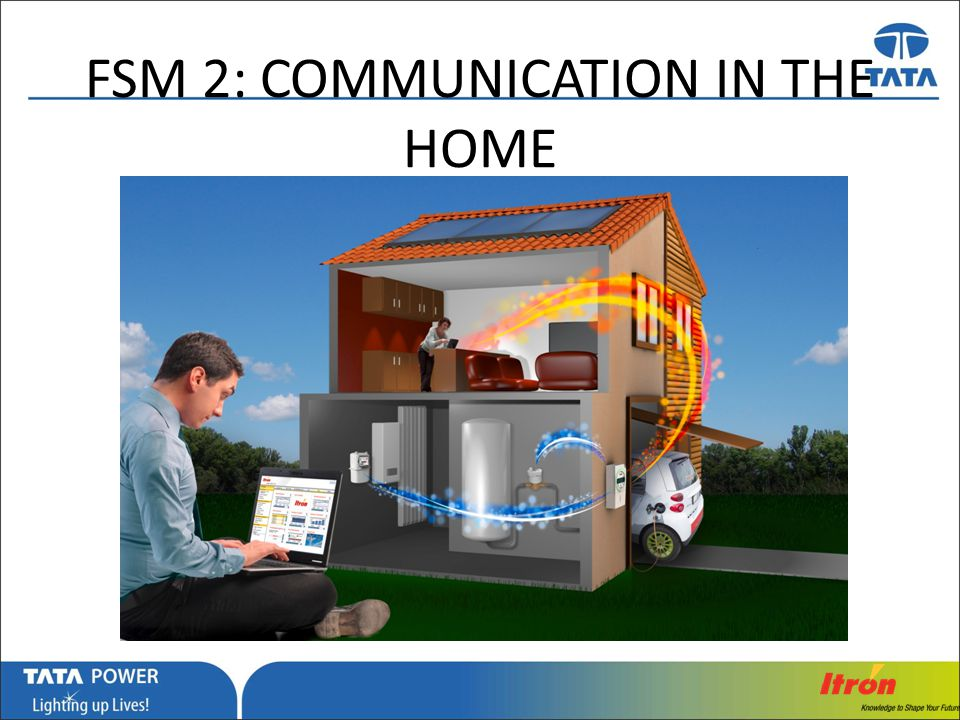 FSM 2: COMMUNICATION IN THE HOME