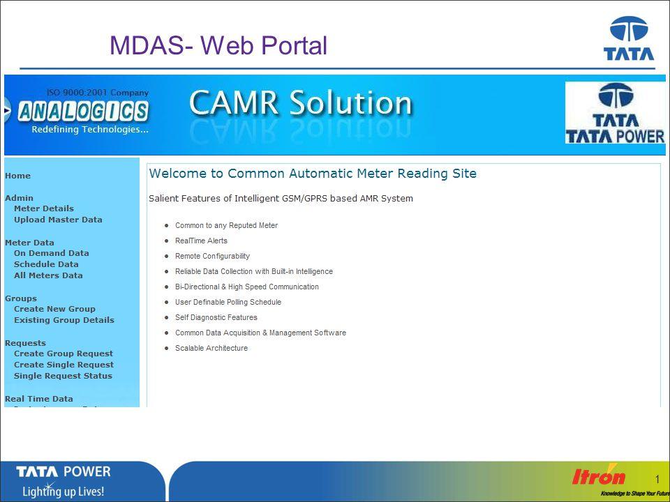 MDAS- Web Portal 1
