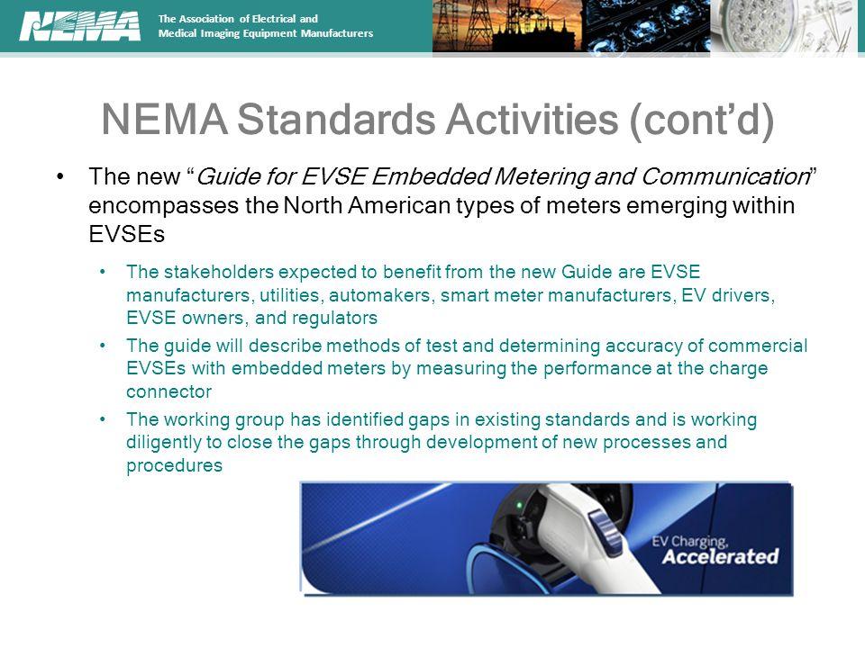 NEMA Standards Activities (cont'd)