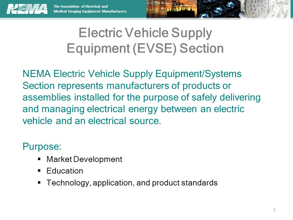 Electric Vehicle Supply Equipment (EVSE) Section