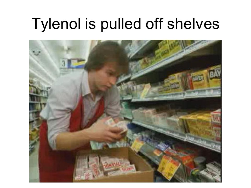 Tylenol is pulled off shelves