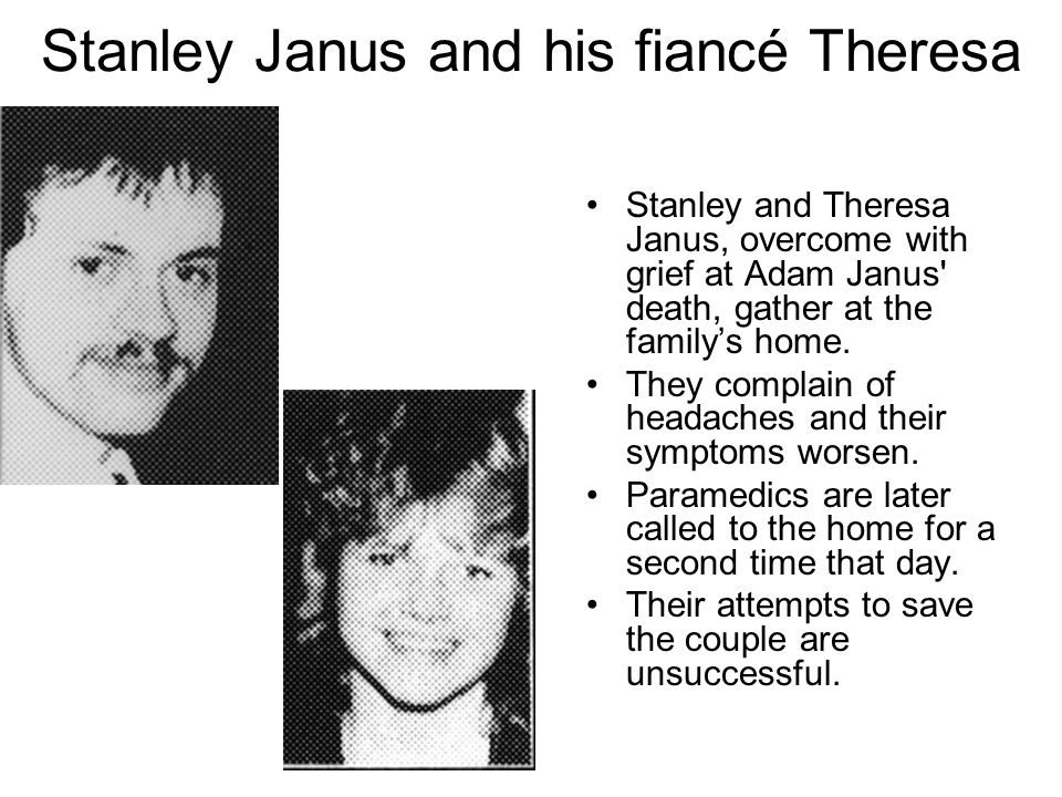 Stanley Janus and his fiancé Theresa