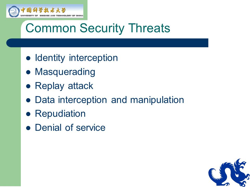 Common Security Threats