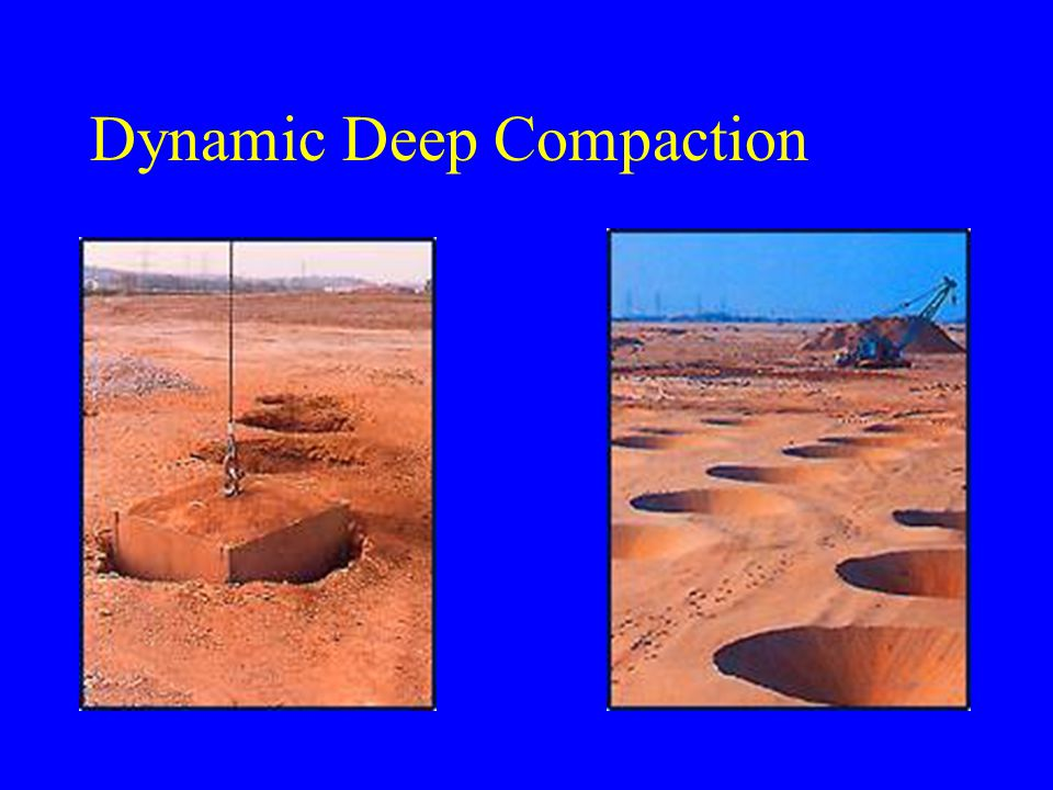 Dynamic Deep Compaction