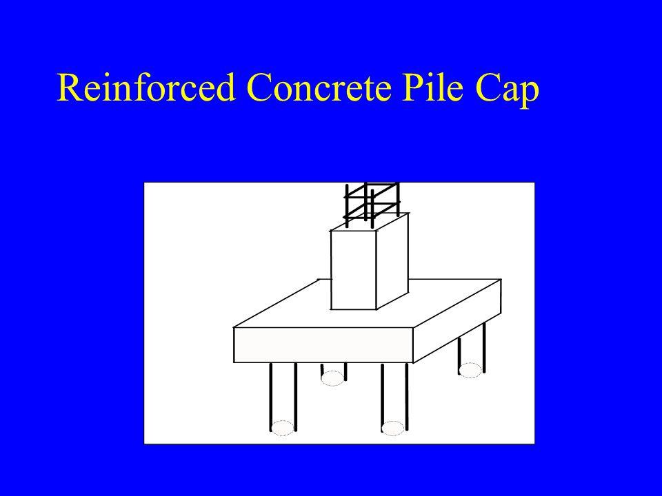 Reinforced Concrete Pile Cap
