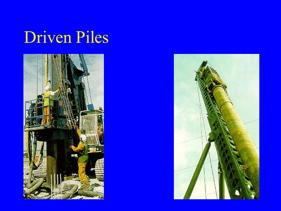 Driven Piles