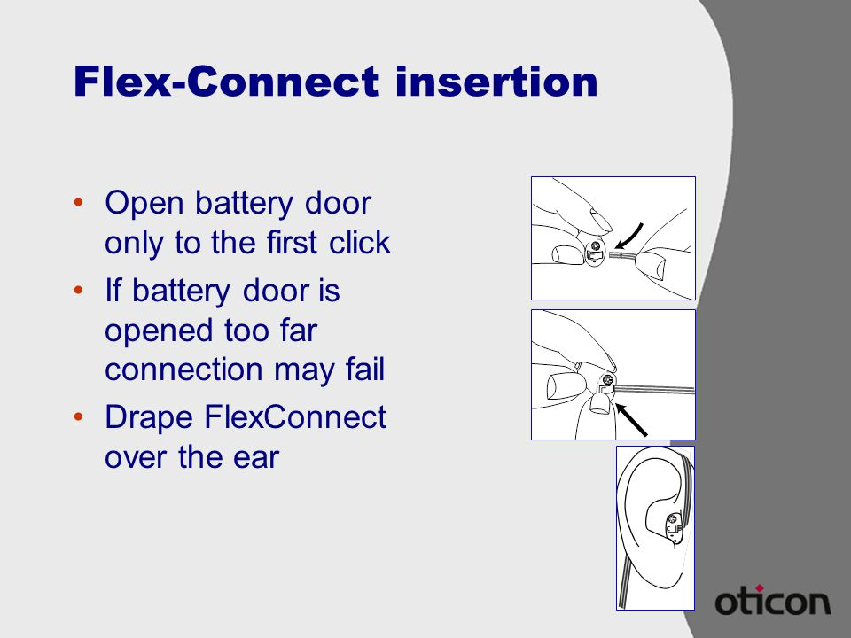 Flex-Connect insertion