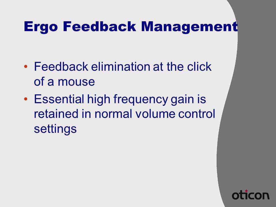 Ergo Feedback Management