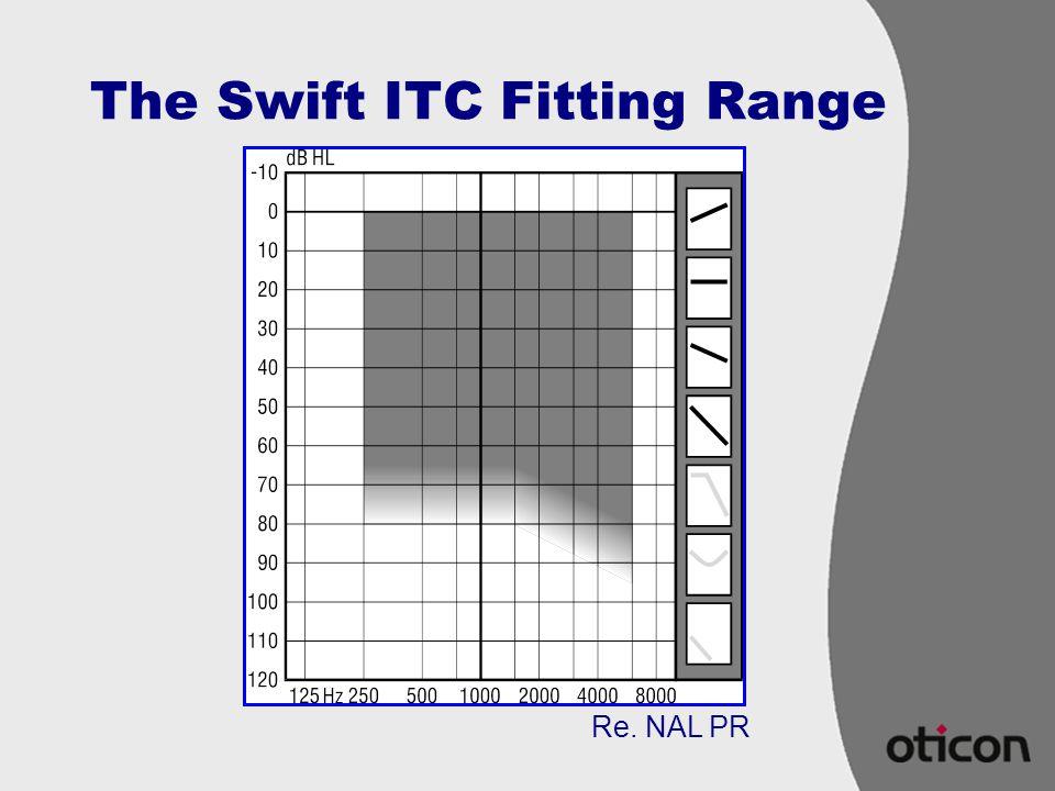 The Swift ITC Fitting Range