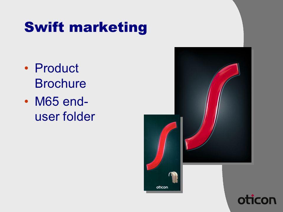 Swift marketing Product Brochure M65 end-user folder